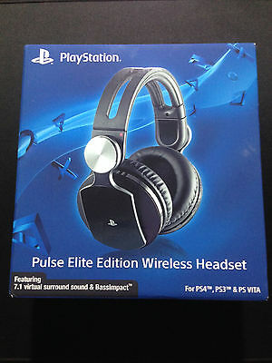 Sony Pulse Elite Edition Wireless Headset Auriculares Inalámbricos PS4 PS3 Vita