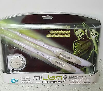 b2 MIJAM DRUMMER ELECTRONIC DRUMSTICKS FOR IPOD OR MP3 PLAYER - NEW!