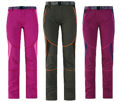 6372 Summer Women Quick-drying Hiking Camping Pants Outdoor Breathable Trousers
