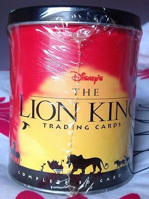 Skybox The Lion King trading cards Limited Edition Tin BNIP