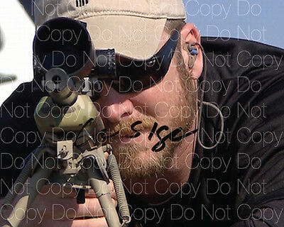 Chris Kyle signed American Sniper 8X10 photo picture poster autograph poster RP3