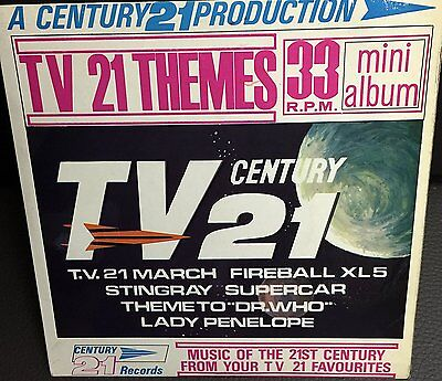 Gerry Andersons Vintage A Century 21 Production - TV 21 Themes - 33RPM Mini Albu