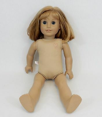 American Girl Pleasant Co. Nellie Doll Light Red Hair Blue Eyes Freckles 18 Inch