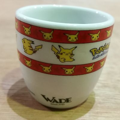 Vintage Pokemon Egg Cup By Wade / Nintendo - New
