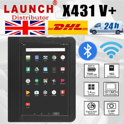 LAUNCH X431 V+ All Systems Auto Vehicle Code Scanner Diagnostic Tool + Bluetooth