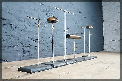 6 x Proportion Vintage Style Shop Display Stands - Hat Jewellery Accessories Etc