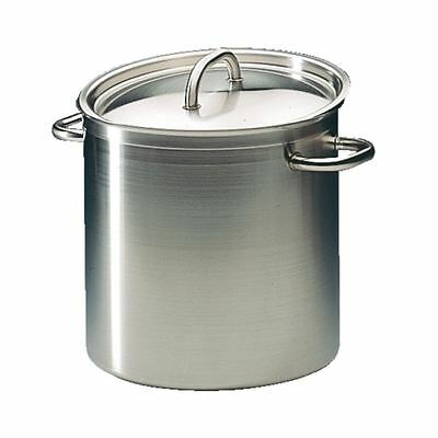 Bourgeat Excellence Stockpot Stew Pan Made of Stainless Steel 240mm - 10.8L