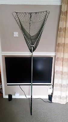 Vintage EFGEECO patent landing net and handle LOOK