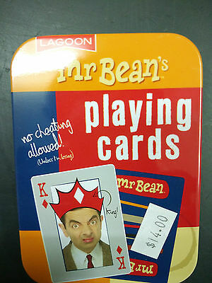 *NEW* Mr. Bean Playing Cards, fun, original, colourful, quality product