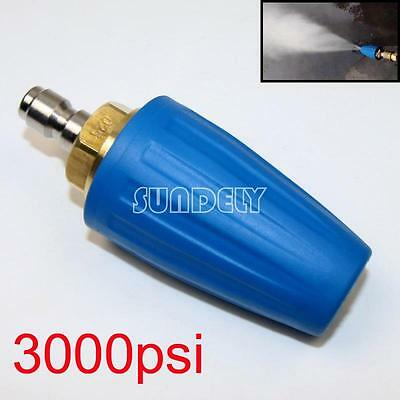1x Washer Turbo Head Nozzle for High Pressure Water Cleaner 3000PSI