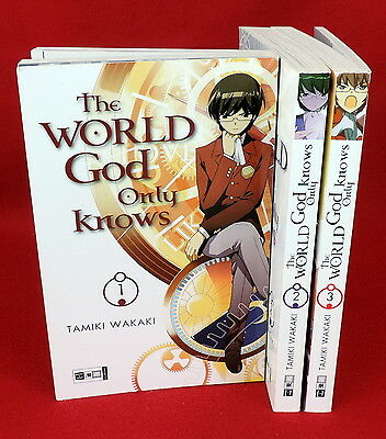 The World God only knows # Einzelbände # Manga # Tamiki Wakaki
