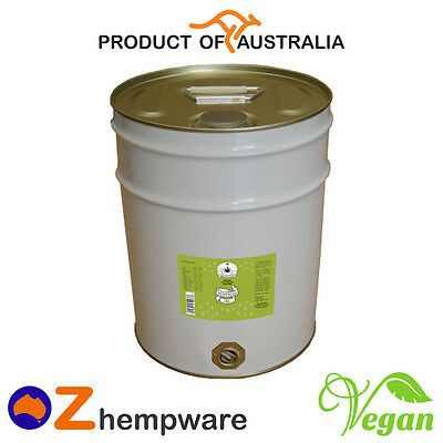 Hemp Seed Oil Bulk Cold-Pressed Unrefined Premium Australian Grown 20L, 40L