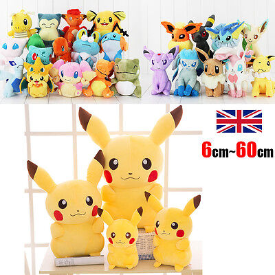 Rare Pokemon Go Collectible Plush Toy Character Soft Toy Stuffed Doll Teddy Gift