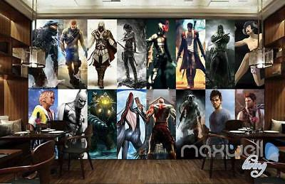 3D Comics Star Poster Wall Paper Wall Mural Decals Game Room Decor Art Business