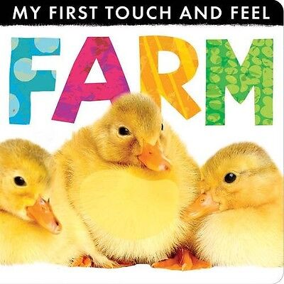My First Touch and Feel Farm - New Book