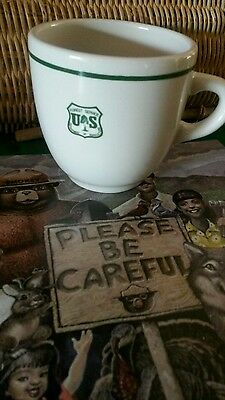 The Forest Service China Cup. High Quality China Company Made.