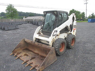 2005 Bobcat S185 Skid Steer Loader w/ Cab!