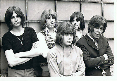 "Status Quo UK  Original Press Photo 1969 5 piece 10"" x  8"" Stamped"