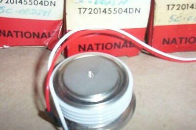 Three, NEW, National electric, SCR;s, T720145504DN,  Thryristors