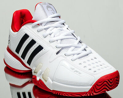 brand new 4f2c6 a2ae0 adidas Novak Pro men tennis shoes sneakers white red last size 13,5 US  CG3081