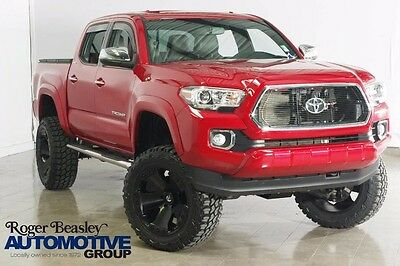"""2016 Toyota Tacoma LIMITED NEW 6"""" LIFT 20"""" FUEL WHEELS 33"""" MUD TIRES 2016 TOYOTA TACOMA LIMITED 4X4 LEATHER SUNROOF NAV REAR CAM"""