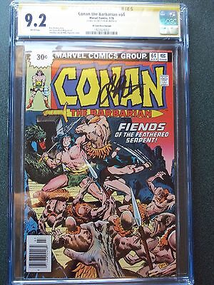 Conan The Barbarian 64 30 Cent Price Variant Signed By Jim Starlin CGC 9.2 WP SS