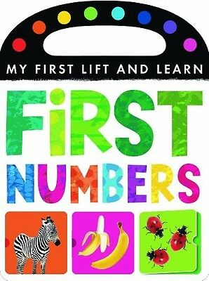 My First Lift and Learn: First Numbers - New Book Little Tiger Press