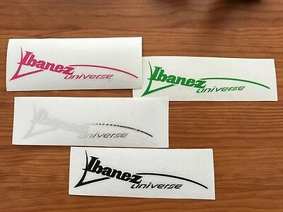 Ibanez Universe Decal (7 String Headstock)