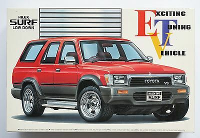 AOSHIMA 1/24 Toyota Hilux Surf low down rare scale model kit / ETV series #15