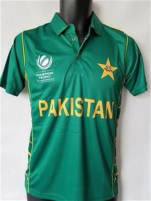 2017 Official Pakistan ICC Champions Trophy Replica Cricket Shirt
