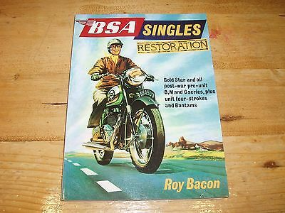Book - BSA Singles Restoration by Roy Bacon