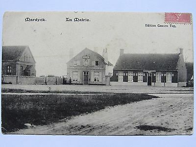 06D14 Cpa 59 - Ancienne Carte Postale Fort Mardyck ( Nord ) - La Mairie - 1906