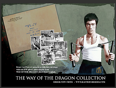 """Pre Order Special Limited Edition """"Way Of The Dragon"""" 10 Black And White Photogr"""