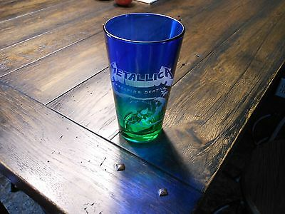 Metallica Creeping Death Etched Pint Glass Limited Edition