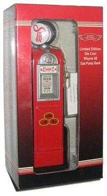 Wayne 60 Gas Pump Bank Limited Edition Die Cast 1940's - (1:12 Scale)