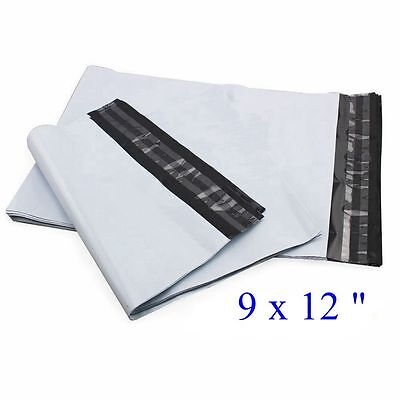 "1000 pcs 9 x 12 "" Poly Mailer Envelope Plastic Mailing Bags, 2.35mil"