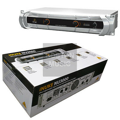 Behringer NU3000 iNuke Ultra-Lightweight, High-Density 3000-Watt Power Amplifier
