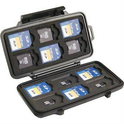Pelican 0915-015-110 SD, microSD, SDHC Secure Digital Memory Card Case