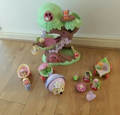 Elc happyland treehouse, Hedgehog, Snail carriage plus Accessories free postage