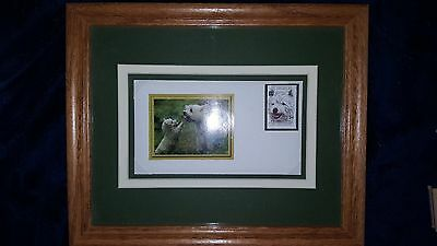 West Highland White Terrier Commemorative First Day Covers - framed - two total