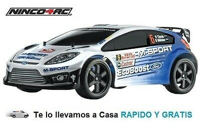 Coche Rc Ford M-Sport 1/12 2,4Ghz RTR Juguete Radiocontrol Ninco NH93072