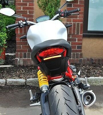 Ducati Monster 797 Fender Eliminator new rage cycles tail led new short