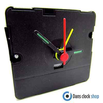 Replacement 588-08 Quartz Alarm Clock Movement Mechanism With Hands - Repair