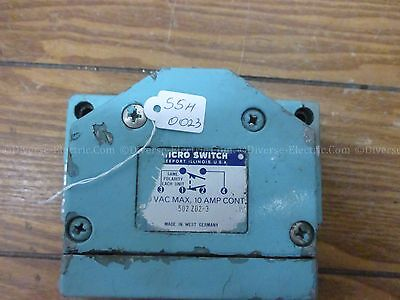 Micro Switch 502 ZD2-3 Limit Switch 240VAC 10A
