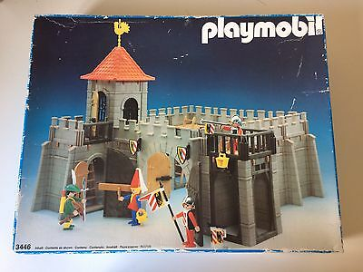 Vintage Playmobil Knights Set: 3446 - Small Castle