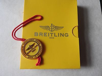 Breitling Colt Watch Warranty Stamped Booklet & Instruction Booklet & Watch Tag