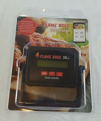 Flame Boss 200-WiFi Kamado Grill Smoker Temperature Controller Meat 5311722925