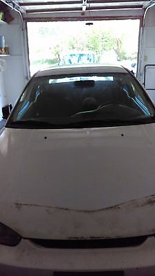1997 mitsubishi mirage white 2 door good condition except the motor
