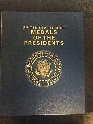 UNITED STATES MINT - Medals Of The Presidents - From Washington To Reagan 1981