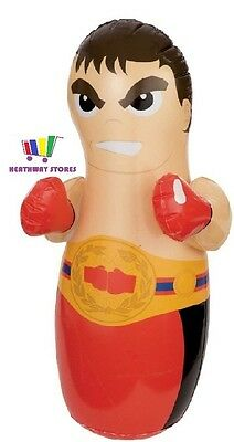 3D Inflatable Punch Bop Bag Boxer Outdoor Indoor Kids Toys Boxing Toy New